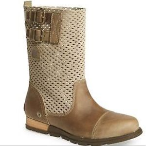 Sorel Major Pull on Perforated Boots